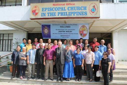Archbishop Justin Welby visits ECP