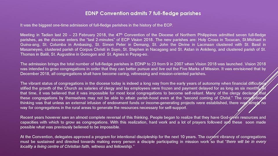EDNP Convention