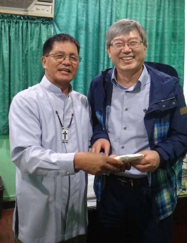PB and the Archbishop of Korea